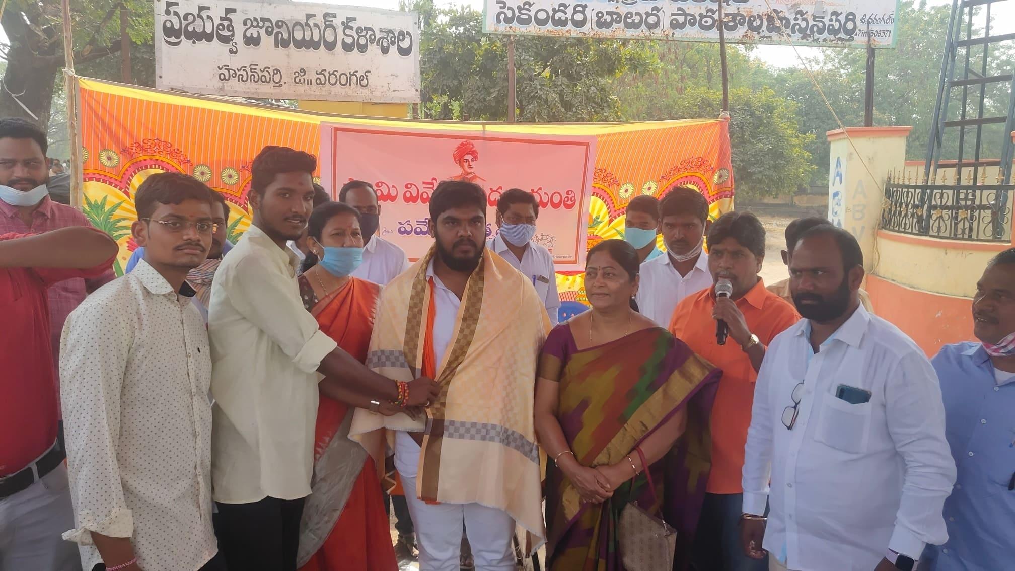 Siddam Naresh Patel   BJYM District President   Active Leader   BJP   Ekashila Nagar   Warangal Urban   Telangana   theLeadersPage