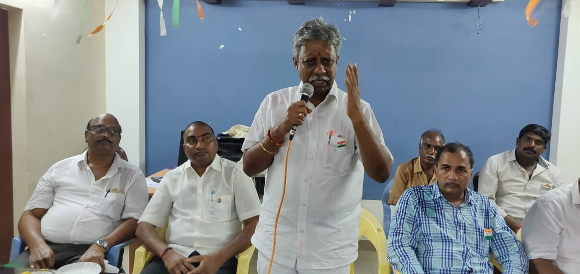 Duvva Srinu | State Vice President of Bharatiya Majdur Sangh(BMS) | BJP |  Town Secretary | District President of Bharatiya Majdur Sangh(BMS) | President of Building Worker Union Assosiation | State President of Bharatiya Majdur Sangh(BMS) | State Vice President of Bharatiya Majdur Sangh(BMS) | Tadepalligudem | West Godavari | Andhra Pradesh | theLeadersPage