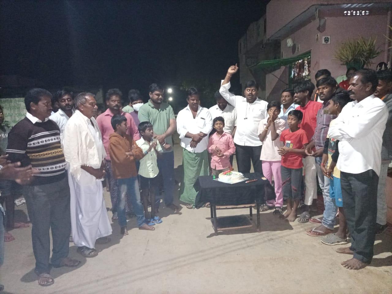 Madula Ramakrishna | Ramakrishna | Rama Krishna | Sarpanch | Unanimous Sarpanch | Active Member | Vice-Chairman of Sri Radha Krishna Rukmini Satyabhama Temple | YSRCP | Ramachandrunipeta | Jaggayyapeta | Krishna | Andhra Pradesh | theLeadersPage