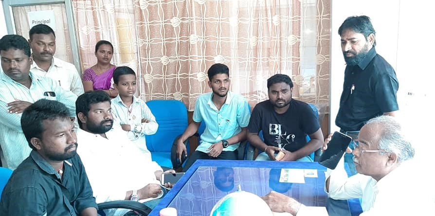 Yasarla Thimothi | Thimothi | President of M.S.F | Town President | Active Member | Youth Vice-President | Youth District Secretary | M.S.F Incharge | TRS | M.R.P.S | Kolanur | Odela | Peddapalli | Ramagundam | Godavarikhani | Telangana | theLeaderspage