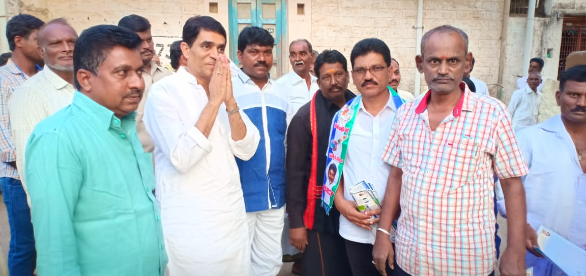 Bora Mallikarjun Reddy | District Youth General Secretary of YSRCP | Kurnool | Peapully | Dhone | Andhra Pradesh | YSRCP | Active Member | theLeadersPage | INC