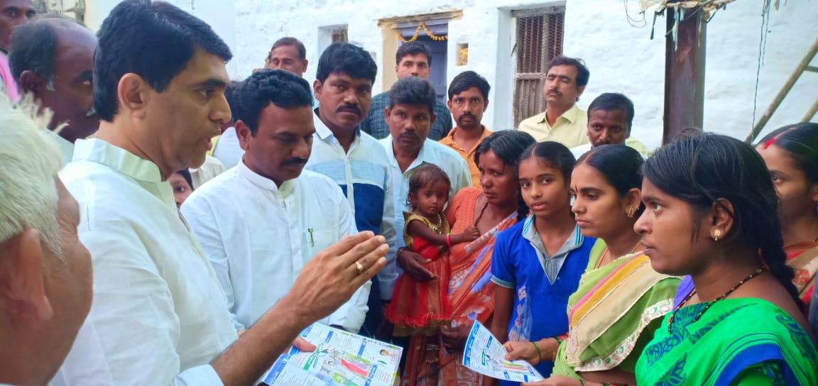 Bora Mallikarjun Reddy | District Youth General Secretary of YSRCP | Kurnool | Peapully | Dhone | Andhra Pradesh | YSRCP | Active Member | theLeadersPage | INC