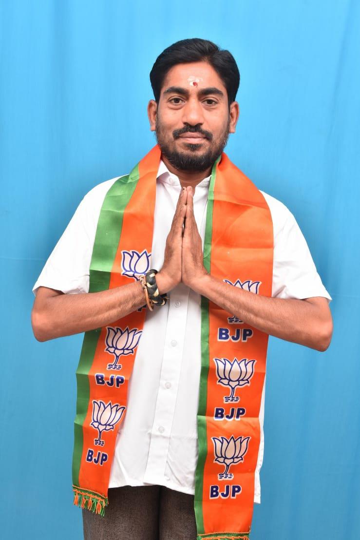 Murakamgattu Rama Bhaddra | Chittoor City North President | Town Vice-President | District General Secretary | RSS | BJP | Santhapet | Chittoor | Andhra Pradesh | theLeadersPage