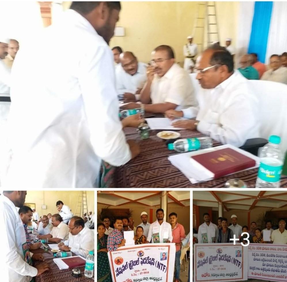 Mopiri Surya Yerukala | District President of National Tribal Federation | Social Activitist | Adoni | Kurnool | Andhra Pradesh | theLeadersPage