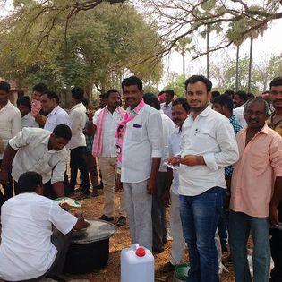 Sajjala Indrasena Reddy   Indrasena Reddy  Lab Chemist   TRS Mandal Secretory   Party Activist   Congress Karyakartha   INC   TRS  VenkatadriPalem   Miryalaguda   Nalgonda   Telangana   theLeadersPage