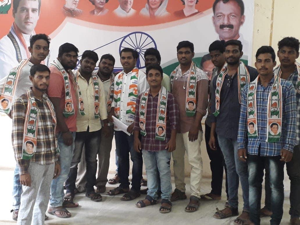 Cheppali Pullaiah | District Youth Congress Working President | 16th Ward Incharge | Congress | District Vice President of Youth Congress | Social Activist | Merinagar | Chinthakommadinne | Kamalapuram | Kadapa | Andhra Pradesh | theLeadersPage