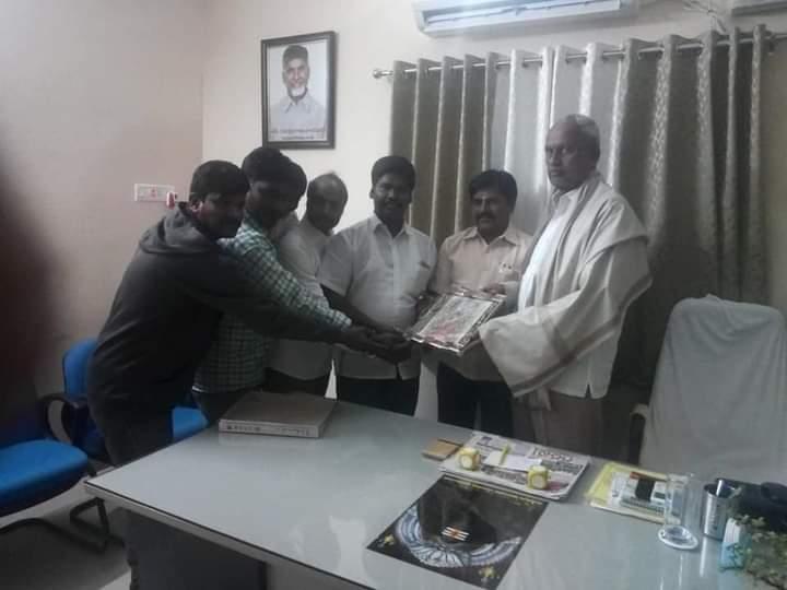 Ponna Ravi Kumar   Founder and State President of Shalivahana Kummara Abhivrudhi Sankshema Samithi   Vice-Sarpanch   Vice-President for Andhra Pradesh Kummara Shalivahana Sankshema Sangam   Tirupati   Andhra Pradesh   TDP   theLeadrsPage