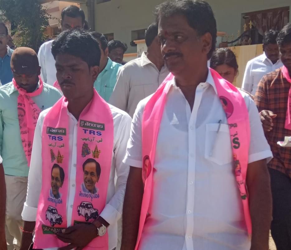 Nuthanaganti Naresh | Mandal Social Media Incharge | Mandal Youth General Secretary | Party Activist | Mandal Convenor for MBC | General Secretary | TRS | Medipur | Tandur | Nagarkurnool | Andhra Pradesh | theLeadersPage