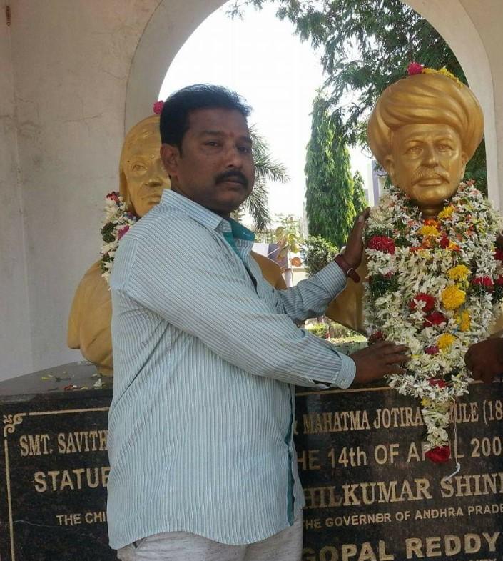 Nemalipuri Raghu Babu | District General Secretary |