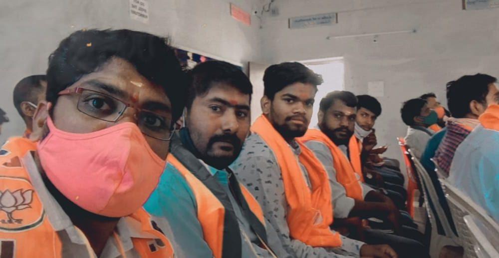 Jakkula Nikhil | BJP North Zone Dalita Morcha President | RSS | BJP | Party Activist | Social Activist | Karimnagar | Telangana | theLeadersPage