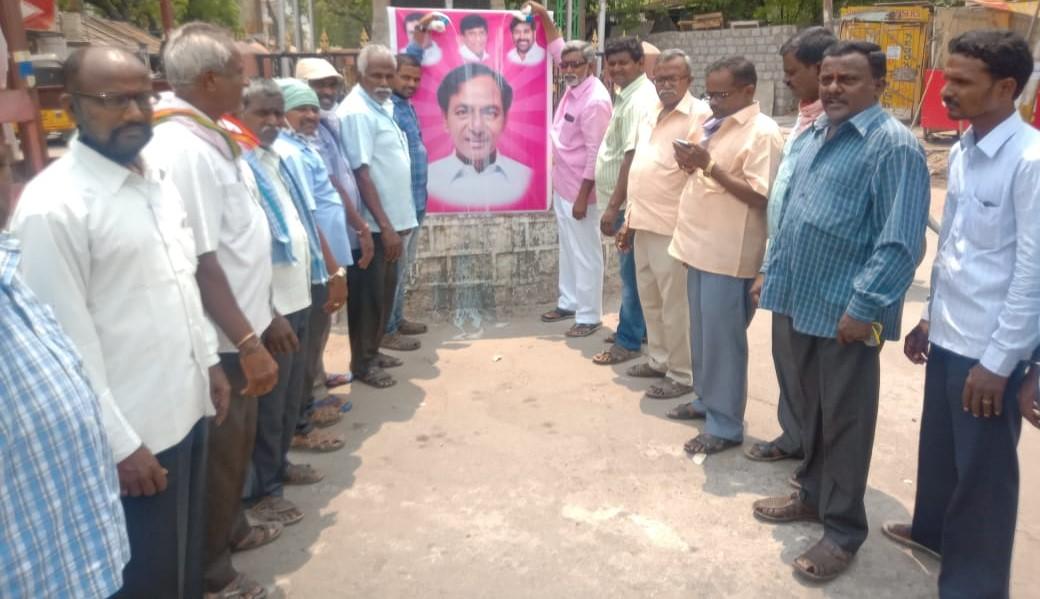 Goli Shankaraiah | Mandal President of Rajaka Sangam | Gurrampode | TRS Leader | TRS | Village Commitee President of Rajaka Sangam | Mosangi | District Assistant Secretary of Rajaka Sangam | Nalgonda | Incharge | Nagarjuna Sagar | Telangana | theLeadersPage
