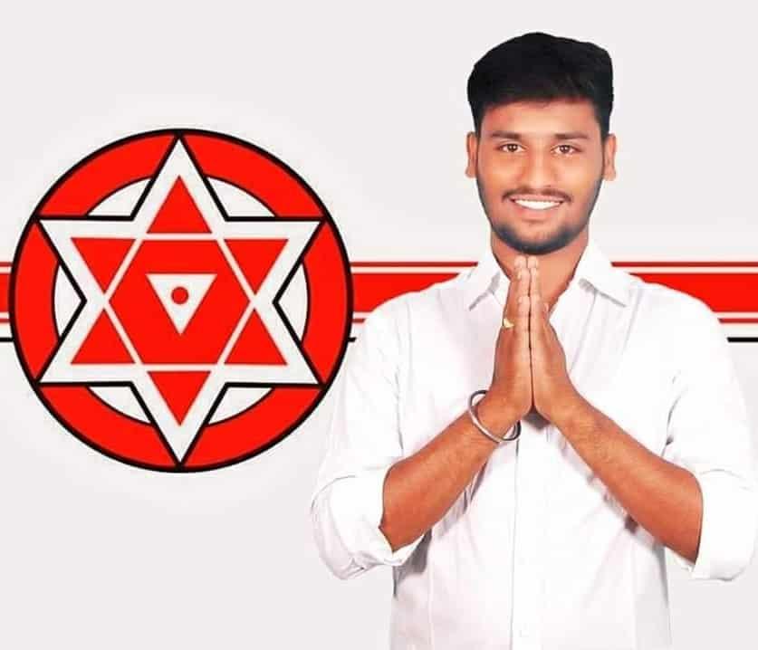 Mula Harish Goud   State Youth Secretary   theLeadersPage