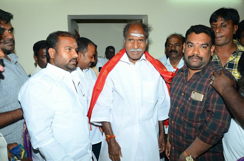 N.Rangaswamy | Cheif Minister | Congress | AINRC | MLA | Assistant to the Minister of Puducherry | Minister for Agriculture | Co-operative Minister | Education Minister | Leader of the Opposition | Thattanchavady | Puducherry | theLeadersPage