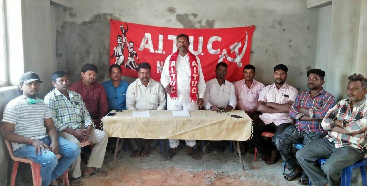 Bhumani Sreenivasulu Yadav   Town Joint Secretary   CPI   AITUC   Town Auto Union Secretary   Party Activist   Nandyal   Kurnool   Andhra Pradesh   theLeadersPage