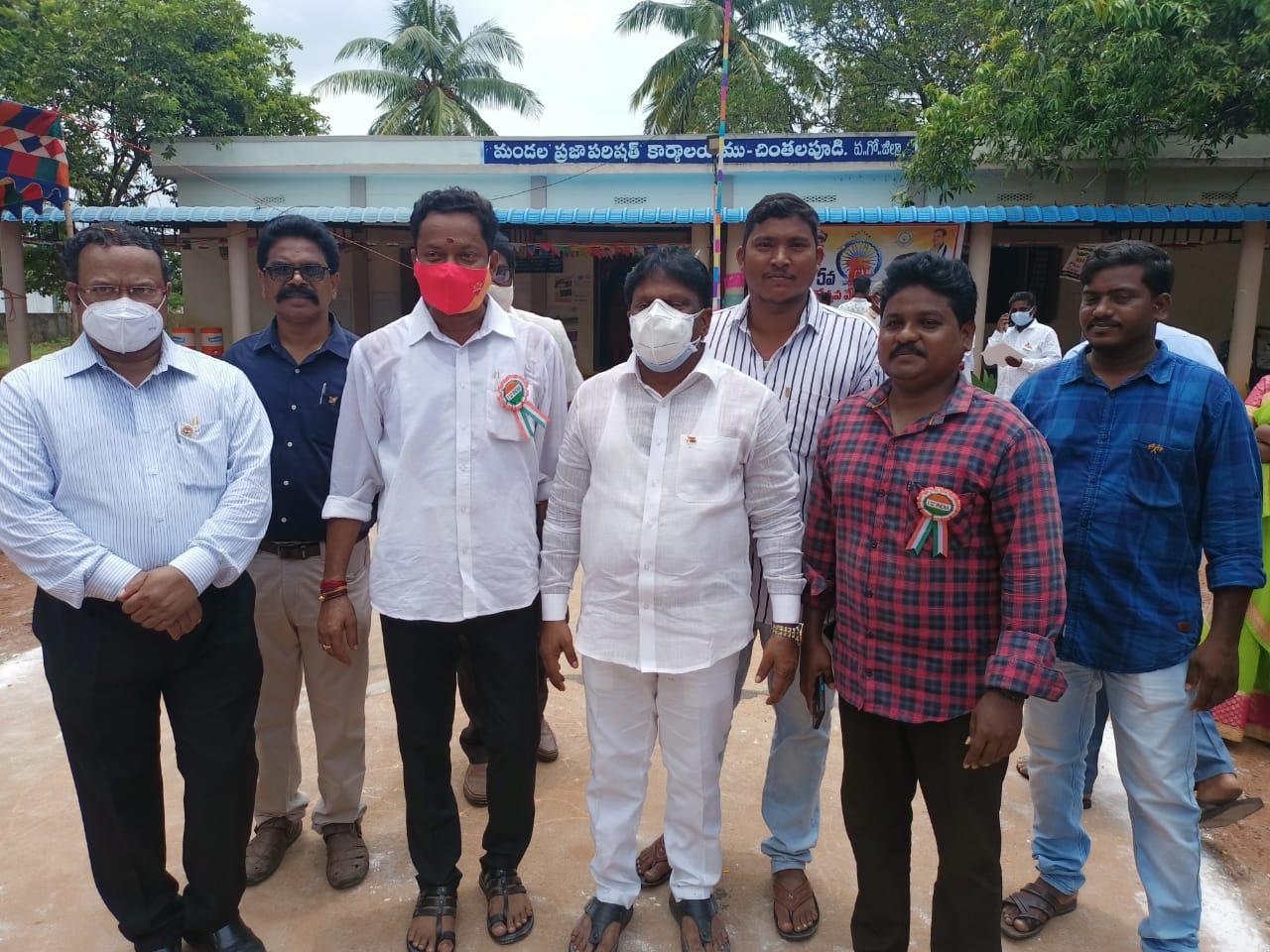 Jujjuvarapu Ramesh Babu | YSRCP Activist | Chintalapudi | theLeadersPage