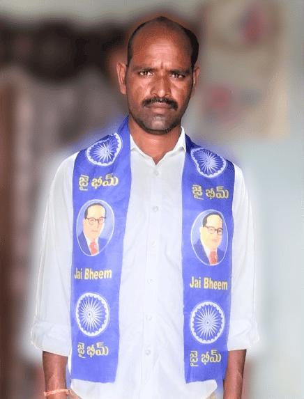 Narige Yadaiah | MRPS Mandal Incharge | CPI | MRPS | District Incharge of Dhalitha Bahujana Union Shramika Sangham | President of the Ambedkar Sangham | Chokampet | Rajapur | Jadcherla | Mahabubnagar | Telangana | theLeadersPage