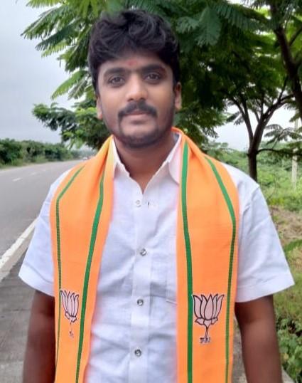 Bakka Venkatesh Goud | Mandal General Secretary | Manoharabad